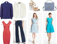 Fashionable summer workwear essentials to buy now! #officefashion #workstyle #dresses
