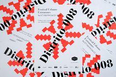 Branding del Festival Urbano Distrito 008, por Mr. Simon   Experimenta