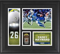 Casey Hayward Los Angeles Chargers Framed 15