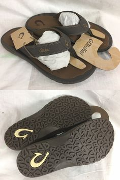 4a4393657102 Sandals and Flip Flops 11504  New Olukai Ohana Flip Flop Sandal Mens Dark  Java 9-13 Beach Water Free Ship -  BUY IT NOW ONLY   55.25 on eBay!