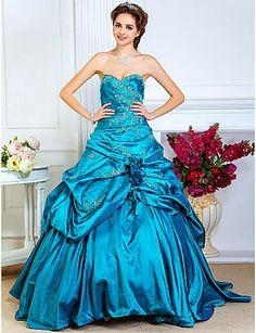 Fenomenales diseños de vestidos de Quinceañeras