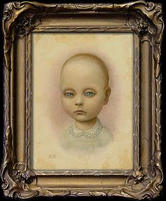 "Marion Peck: ""Alice 1887-1889""    Oil on canvas    2006"