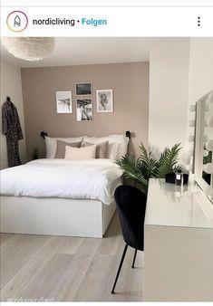 Room Design Bedroom, Room Ideas Bedroom, Small Room Bedroom, Home Room Design, Home Decor Bedroom, Home Living Room, Stylish Bedroom, My New Room, House Rooms