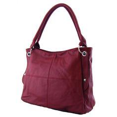 Dámská kabelka na rameno Sun-bags BH168 vínově červená