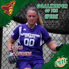 Women's Soccer Goalkeeper of the Week: Erica Laurens, Armstrong State