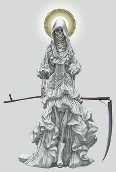 la_santa_muerte_by_angelero-d4sx8o9.jpg 735×1,088 pixels