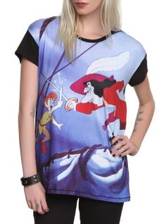 Disney Peter Pan Peter Vs. Hook Top | Hot Topic