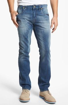6591fecb553 Robert Graham Stretchin Out Slim Fit Jeans (Indigo) available at   Nordstrom. For