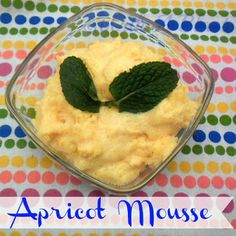 With A Blast: Apricot Mousse {fluffy  light!} #desserts #mousse #summerrecipes