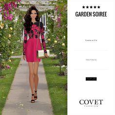 Covet Fashion Game. Look: Garden Soirée
