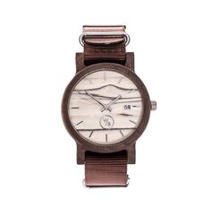 Drewniany Zegarek - Seria Bartolomeo brązowy