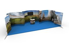 Visit Kent ISOframe Exhibit display stand