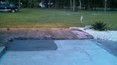 Before -new set of pavers