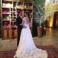 Tão linda a nossa noivinha Rachel ✨ #AtelierCarlaGaspar