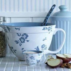 Blue Batter Bowl / Apple pancakes, coming up.
