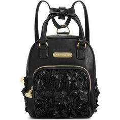 Betsey Johnson Mini Convertible Backpack ( 88) ❤ liked on Polyvore  featuring bags 65bd04f67a5ee