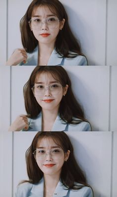 Iu Short Hair, Short Hair Styles, Snsd, Cute Backgrounds For Phones, Uniqlo Women Outfit, Iu Fashion, Korean Celebrities, Female Celebrities, Cute Little Girls