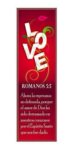 — Romanos 5:5 (Marcadores en Español)