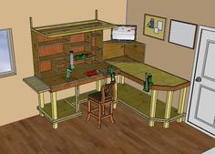 Reloading Bench Ideas and Plans | ... Reloader's Blog | Discussion and Evolution of Reloading