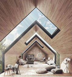 Tenniswood Inspiration Big Windows, Mansions Homes, Architect Design, Studio Apartment, Modern Architecture, Wellbeing Centre, Diy Home Decor, House Design, Skylights