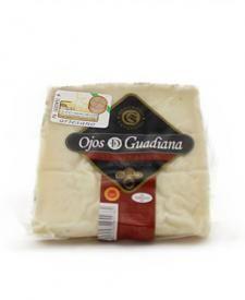 Queso Semicurado Ojos del Guadiana 350g #queso #cheese #fromage #gourmet #guadiana #tiendagourmet