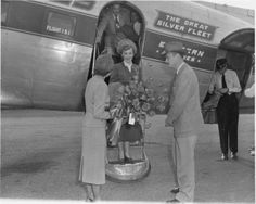 Photo of the Week  1-27-2014... The 2000th winner of the Queen For A Day contest visited Dothan for National Peanut Festival in 1952.    L-to-R:  Sarah Wiggins; Queen Betty Phillips; Mr. Phillips; Harold Wiggins.   From RG 019 Harold Wiggins Papers.