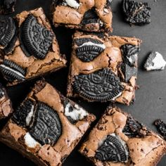 #oreo brownies