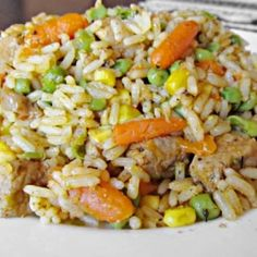 Fried Rice, Fries, Food And Drink, Chinese, Ethnic Recipes, Recipies, Nasi Goreng, Stir Fry Rice, Chinese Language