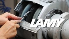 How It's Made - Fountain Pens. See how your favorite LAMY Fountain Pens & Ink are made!