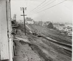 Clearing Land for Candlestick Park San Francisco by Photoscream, via Flickr
