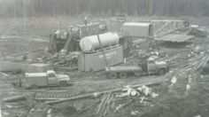 Shirley bros & parker drilling 1958 Oil Field, Drilling Rig, Oil Rig, Old Skool, Rigs, Black Gold, Trucks, History, Building