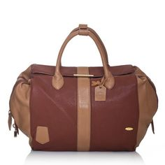 Chic Travel Handbag Coffee, £40.50, now featured on Fab.