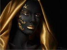 zwart en goud, prachtig
