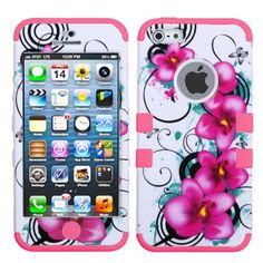 Hard Plastic Snap on Cover Fits Apple iPhone 5 5S Morning Petunias/Electric Pink TUFF Hybrid AT&T, Cricket, Sprint, Verizon (Please carefully check your device model to order the correct version.), http://www.amazon.com/dp/B00DRIDTS2/ref=cm_sw_r_pi_awdm_tOyAub1C0F4FQ