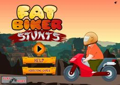 لعبة الدراجة النارية الضخمة لعبة حلوة من العاب سيارات الرائعة جداً علي العاب فلاش ميزو.