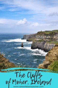 Although you can visit the incredible Cliffs of Moher from Dublin, spend a night or two exploring the area and visit the cliffs of Moher from Galway. Europe Destinations, Europe Travel Guide, Travel Guides, Travel Advice, Ireland Travel, Galway Ireland, Ireland Food, Ireland Map, Wales