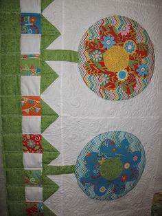"""Sometimes the BEST things happen when you """"just"""" quilt. :) Take a look at Debbie's fabulous quilt she recently finished without using her stitch regulator. We are inspired by your work, Debbie!"""