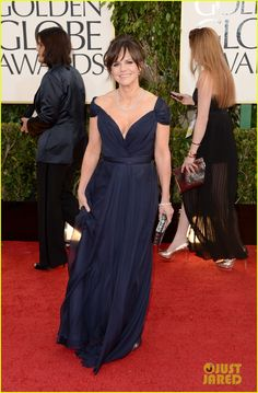 Daniel Day-Lewis & Sally Field - Golden Globes 2013 Red Carpet