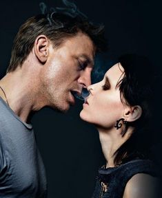 "Con Rooney Mara en ""The girl with the dragon Tattoo"" (Los hombres que no amaban a las mujeres) de David Fincher (2011)"