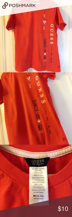 Guess Shirt Great Condition....Boys Guess shirt Guess Shirts & Tops Tees - Short Sleeve