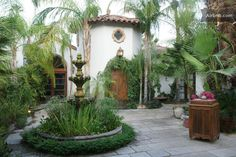 Would be so cool to build around our courtyard and add a fountain! Would be beautiful!!