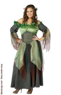 Mother Nature Adult Plus Costume  $45.50