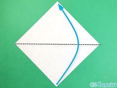 折り紙で花瓶の折り方手順1 Chart