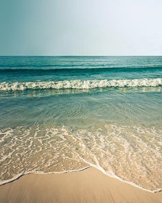 Beach photography vintage inspired coastal print