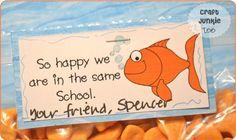 free valentine printables goldfish - Google Search