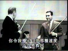 ▶ Jascha Heifetz - Masterclass 1 of 4 - YouTube  I just died and went to heaven!