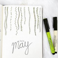 "217 Likes, 13 Comments - joos | bullet journal newbie (@bu.joos) on Instagram: ""》 hello m a y 《 It's already the first of May. I can't believe that April is already over! I feel…"""