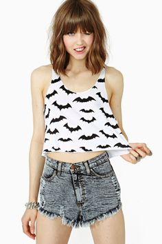 Batty Crop Tank