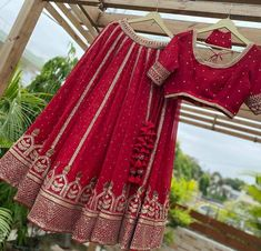 Wedding Lehenga Designs, Designer Bridal Lehenga, Indian Bridal Lehenga, Indian Bridal Outfits, Indian Designer Outfits, Red Lehenga, Saree, Bridal Suits Punjabi, Pakistani Fashion Party Wear