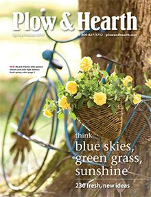 Plow and Hearth catalog - Outdoor garden decorations and furniture from Plow & Hearth